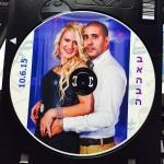 הדפסת תמונה על דיסק + כיתוב והקדשה