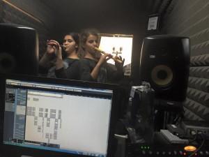 הקלטת שיר לבת מצווה באולפני לי-רון